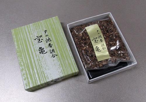 □タニ沈香調合 宝亀15g 香炭入(二回分)