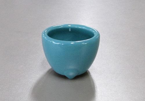 ◆青磁 玉香炉 2.5寸×10ヶ 浄土真宗本願寺派(西)用香炉