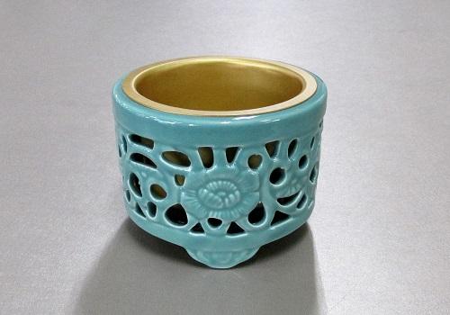 ◆スカシ香炉・透し香炉 3.0寸 真宗大谷派(東)用