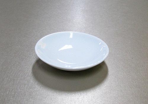 ■白皿 3.0寸 1枚