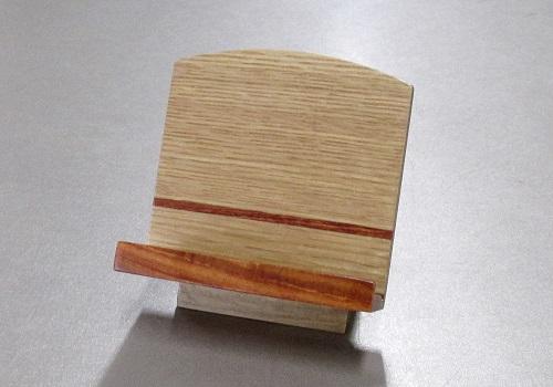 ◆木製低見台 ナラと花梨 3.0寸