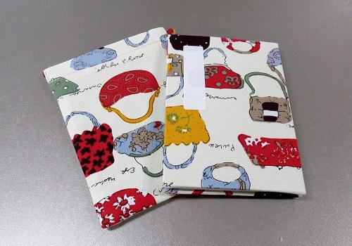 ●御朱印帳&ケースのセット 小 ��36 アコーディオン式 おでかけ ※在庫処分特価品