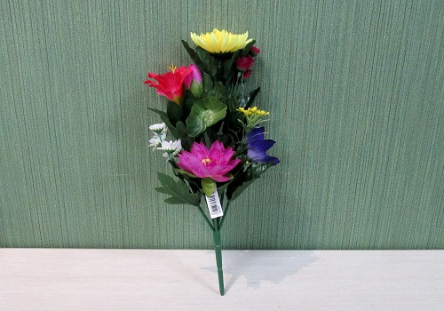 ◆造花 エコ仏花 蓮