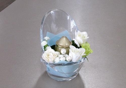 ◆ミニ骨壺 チェアアノーン アーティシャルセット ゴールド