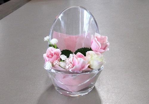●ミニ骨壺置き台 チェアアノーン アーティシャル ピンク