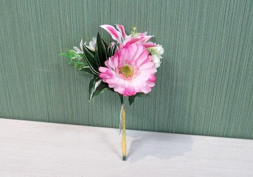 ■造花 ガーベラリリーブーケ