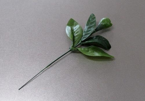 ■造花 在家華鋲用 シキミの葉 つぼみ付