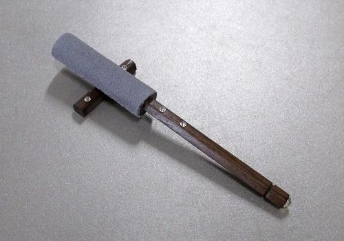 □モダン リン棒セット 4.0寸 ウォールナット グレー