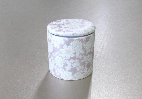 ◇骨壺・骨壷 シリコン付骨カメ 2.5寸 華結晶 紫 ×20個
