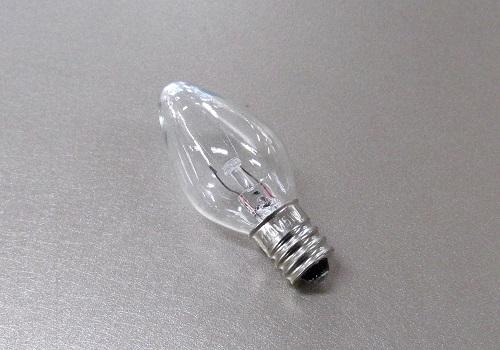 ■電球 ローソク球 110V5W 透明