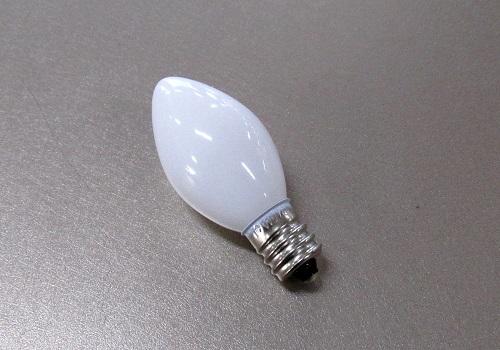■電球 ローソク球 110V5W 白