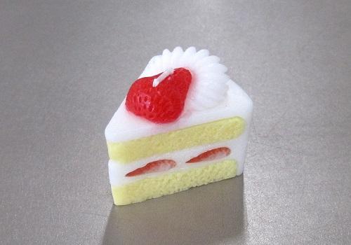 ◆スイーツキャンドル ショートケーキ
