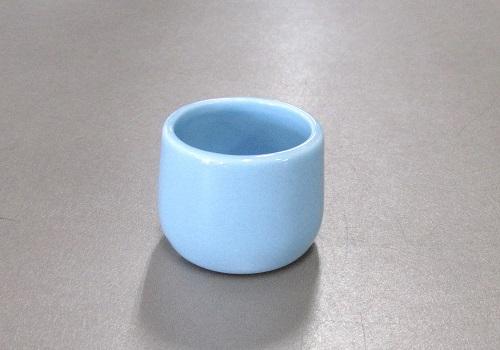 ●ペット用具足 湯呑・水入れ ブルー