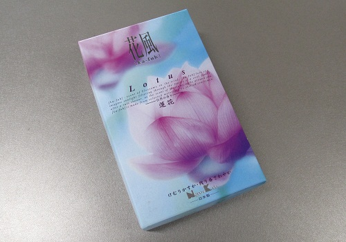 ■煙の少ないお線香 花風 蓮華 【日本香堂】