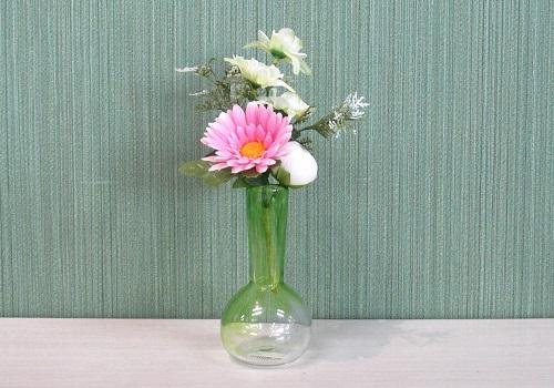●造花 百日草ブーケ ピンク