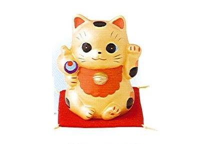 ◇金運招き猫福槌 貯金箱