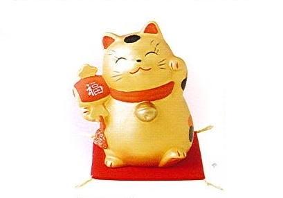 ◇金運財福招き猫 福槌