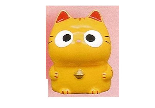 ◇ぱっちりおめめ招き猫 貯金箱 とら
