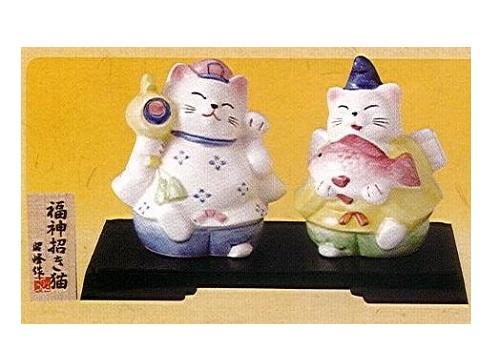 ◇福神招き猫 エビス・大国