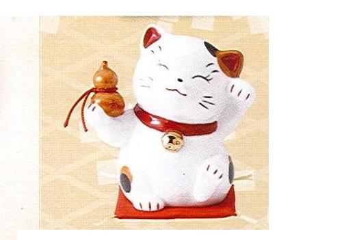 ◇財福招き猫 大 千成 (磁器)