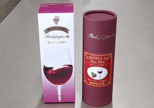 ◆煙の少ないお線香 Bourgogneの風 赤ワインの香り 【奥野晴明堂】