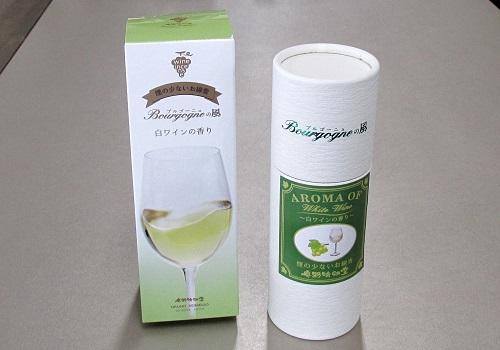 ◆煙の少ないお線香 Bourgogneの風 白ワインの香り 【奥野晴明堂】