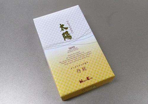 ◎煙の少ないお線香 太陽 丹桂 バラ詰 【日本香堂】