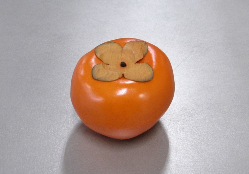 ■くだもの模型 柿