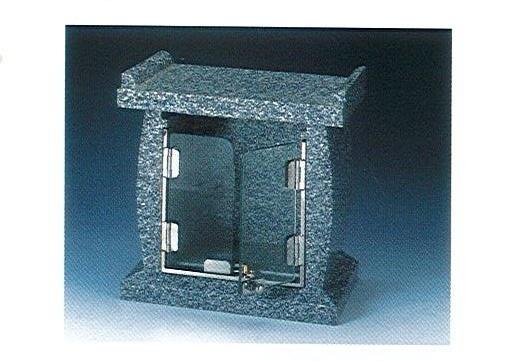 ◇墓参品 石台・ガラスの扉付 あすか