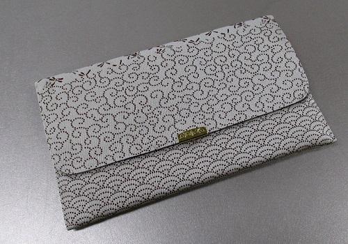 □念珠袋・数珠入 金封念珠入 帯織 D