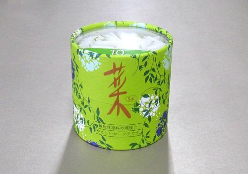 ■カメヤマローソク 菜10 円筒函 約300本入 (燃焼時間:約10分)