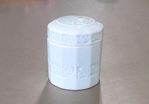 ◆骨壺・骨壷 菊花 4.0寸