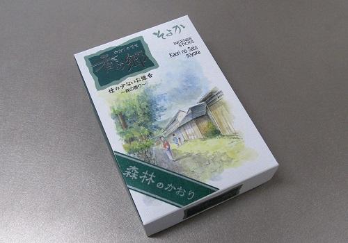 ■煙の少ないお線香 香の郷 そよか 大バラ 160g入 【奥野晴明堂】