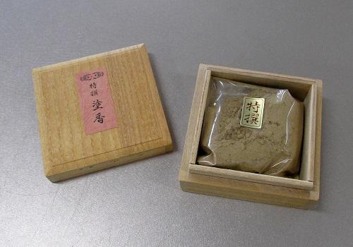 ◆塗香 特選塗香 15g 桐箱入 【玉初堂】 ※訳アリ品