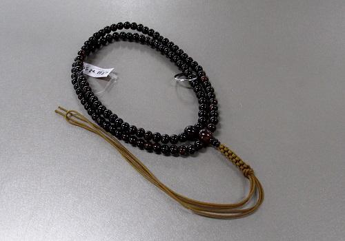 ◆曹洞宗用尺2 紫檀 共仕立 紐房 本連108珠