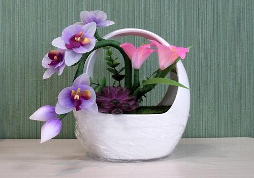 ◆LEDフラワー ルミナスポット胡蝶蘭