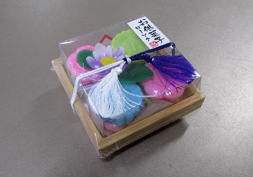 ■お供菓子 落雁ローソク 故人の好物ローソク 【カメヤマ】