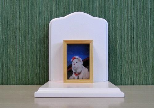 ◆ペット用仏壇 ��1 ホワイト
