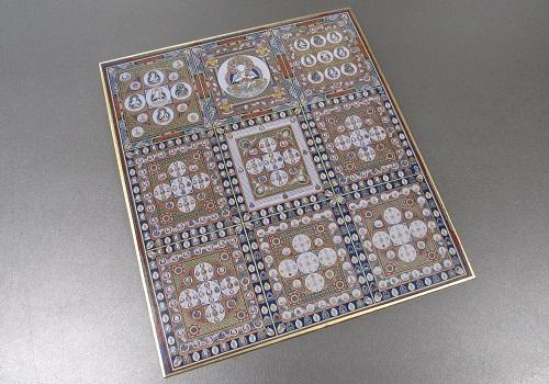 ◆仏画色紙 金剛界曼荼羅 84002