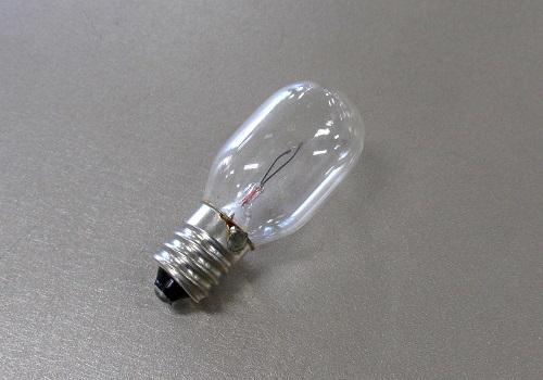 ●電球 ナツメ球 8V12E  クリア