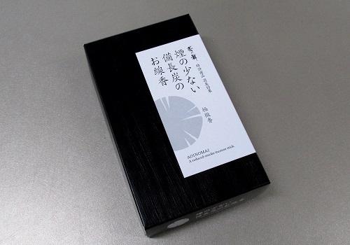 ◇煙の少ない備長炭のお線香 葵乃舞 【カメヤマ】