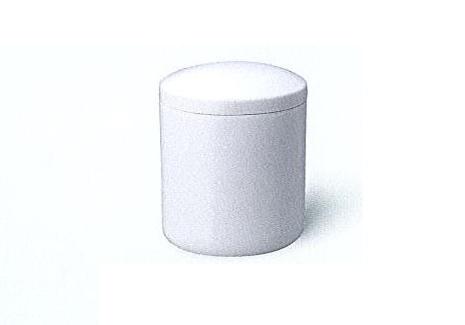 △骨壺・骨壷 白上骨カメ かぶせ蓋 7.0寸×1ケース(6ヶ入)