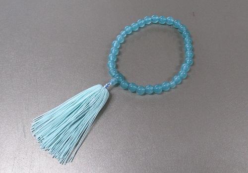 ○子供用数珠 お子様念珠 ブルー