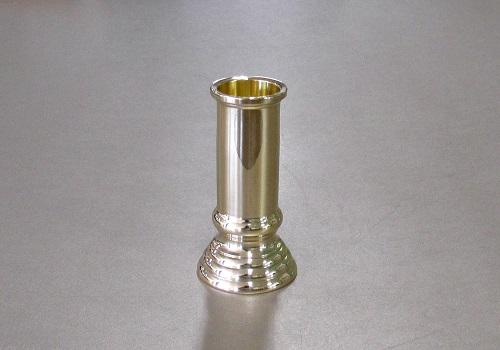 ■細線香差 3.0寸 磨き 真鍮製
