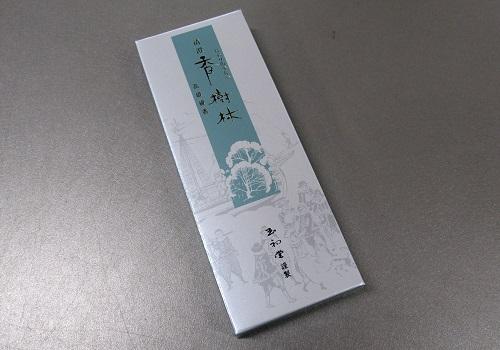○煙の少ないお線香 清澄香樹林 セレクト15g 【玉初堂】