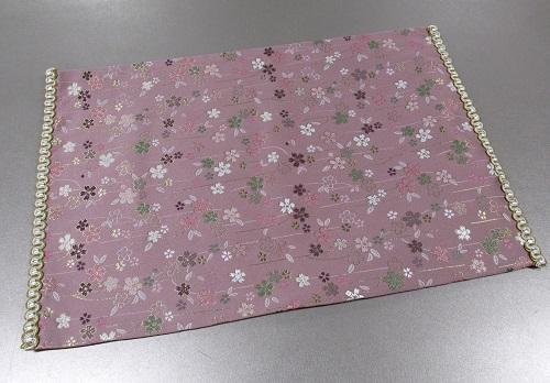 ●防炎加工 経机掛・経机敷 20号 中京型 美桜 ピンク