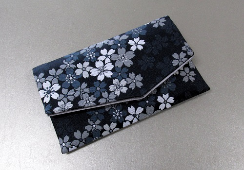 ○念珠袋・数珠袋 ふたえ上錦 M