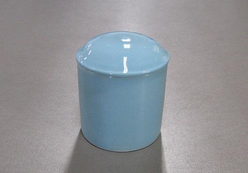 ▲骨壺・骨壷 青磁上骨カメ 2.0寸×1ケース(6ヶ)