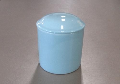 ▲骨壺・骨壷 青磁上骨カメ 2.5寸×1ケース(6ヶ)