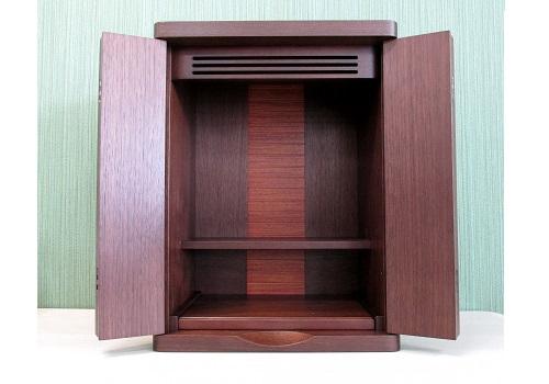 ●家具調 上置仏壇 ミニ仏壇 ジェイ 14号 ウォールナット